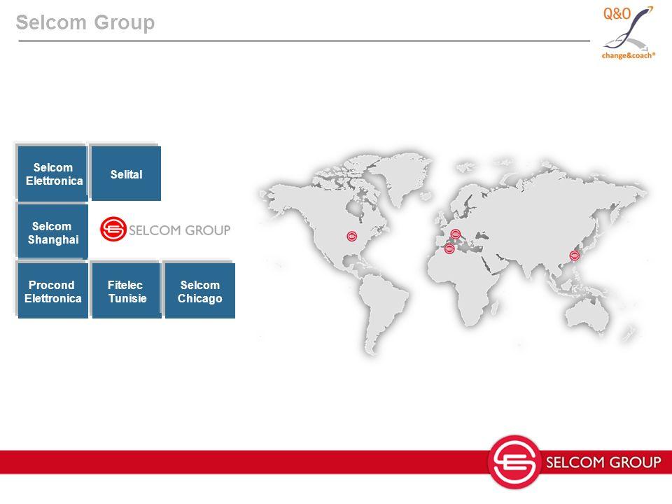 Selcom Group Selcom Shanghai Selcom Elettronica Fitelec Tunisie Procond Elettronica Selital Selcom Chicago
