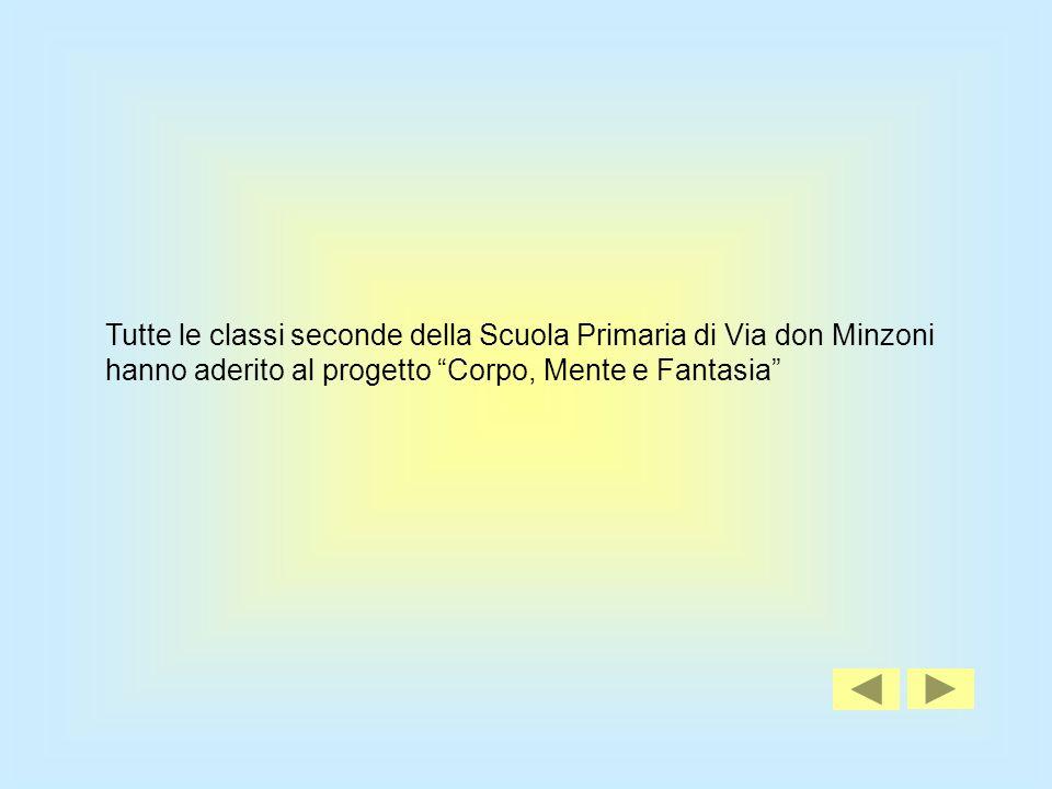 Tutte le classi seconde della Scuola Primaria di Via don Minzoni hanno aderito al progetto Corpo, Mente e Fantasia