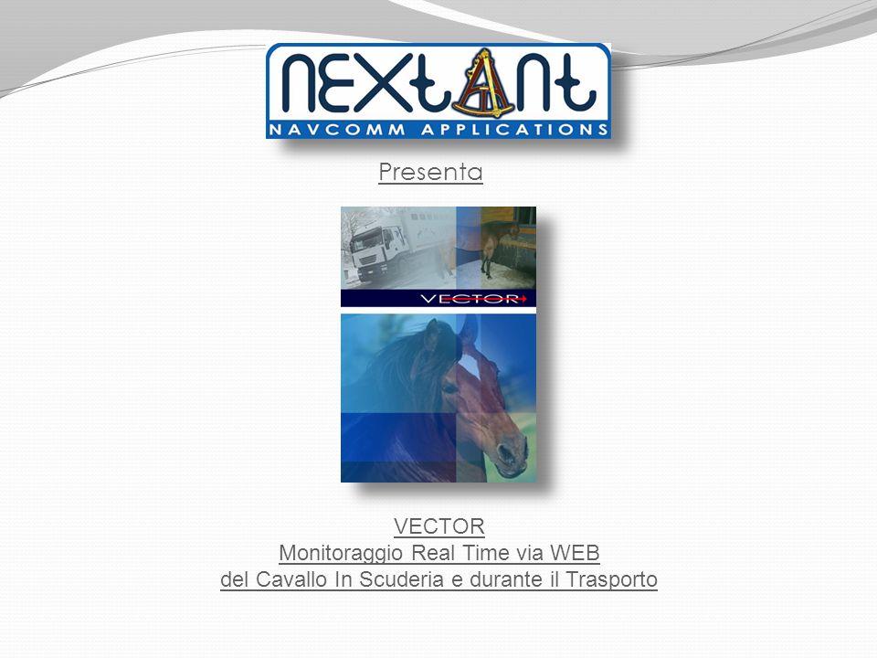 Presenta VECTOR Monitoraggio Real Time via WEB del Cavallo In Scuderia e durante il Trasporto