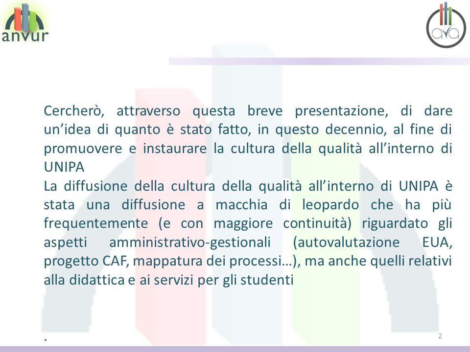 2 Cercherò, attraverso questa breve presentazione, di dare unidea di quanto è stato fatto, in questo decennio, al fine di promuovere e instaurare la c