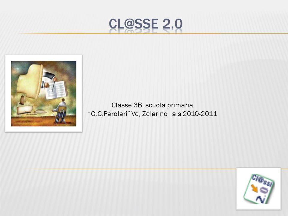 Classe 3B scuola primaria G.C.Parolari Ve, Zelarino a.s 2010-2011