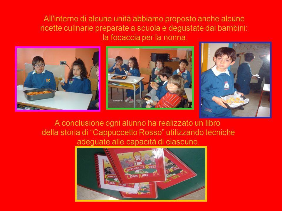 Le varie unità di apprendimento sono state sviluppate proponendo attività riguardanti: - apprendimento dei colori - giochi simbolici, drammatizzazioni
