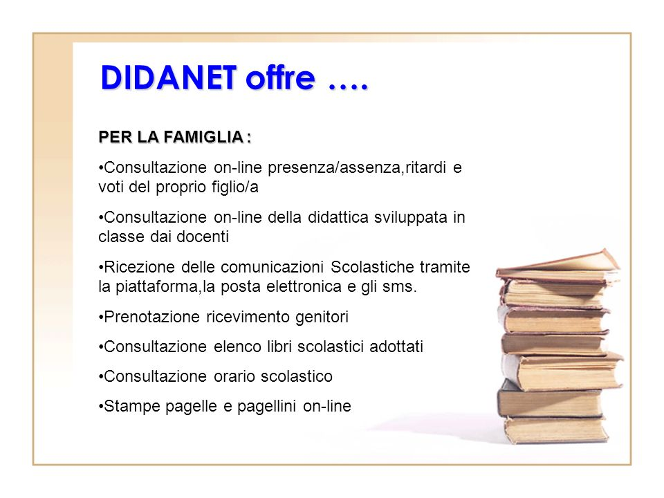 DIDANET offre ….