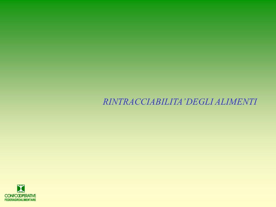 LE REGOLE COMUNITARIE L articolo 18 del Reg.