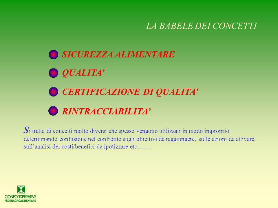 OBIETTIVO D AL 1° gennaio 2005 SARA OBBLIGATORIO ADOTTARE SISTEMI DI RINTRACCIABILITA DEGLI ALIMENTI IN TUTTA LUNIONE EUROPEA I L REGOLAMENTO (CE) N.