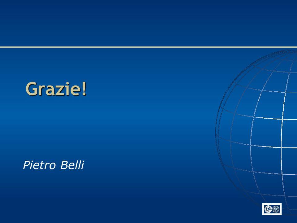 Grazie! Pietro Belli