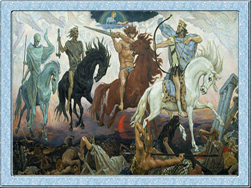 I Cavalieri dell Apocalisse sono quattro figure simboliche introdotte nell Apocalisse di Giovanni 6,1-8 e successivamente presenti nella cultura medievale, ma anche in quella contemporanea.