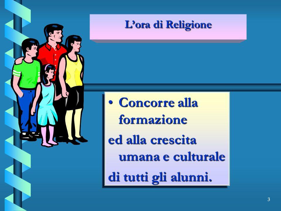 4 Apre il dialogo Apre il dialogo con la società di oggi e con le altre religioni.