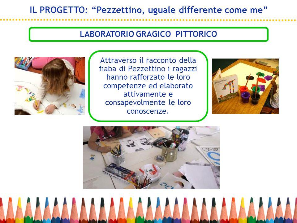 Attraverso il racconto della fiaba di Pezzettino i ragazzi hanno rafforzato le loro competenze ed elaborato attivamente e consapevolmente le loro cono