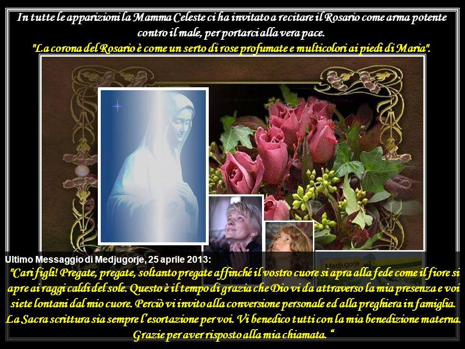 Disse una volta il Santo al suo confratello P. Pellegrino: >. Ai suoi figli spirituali, che gli chiedevano poco prima che San Pio da Pietrelcina moris