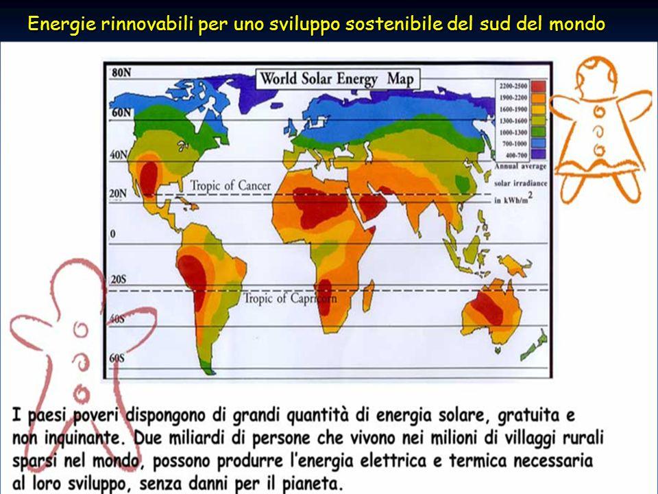 41ENEA - educarsi al futuro Energie rinnovabili per uno sviluppo sostenibile del sud del mondo