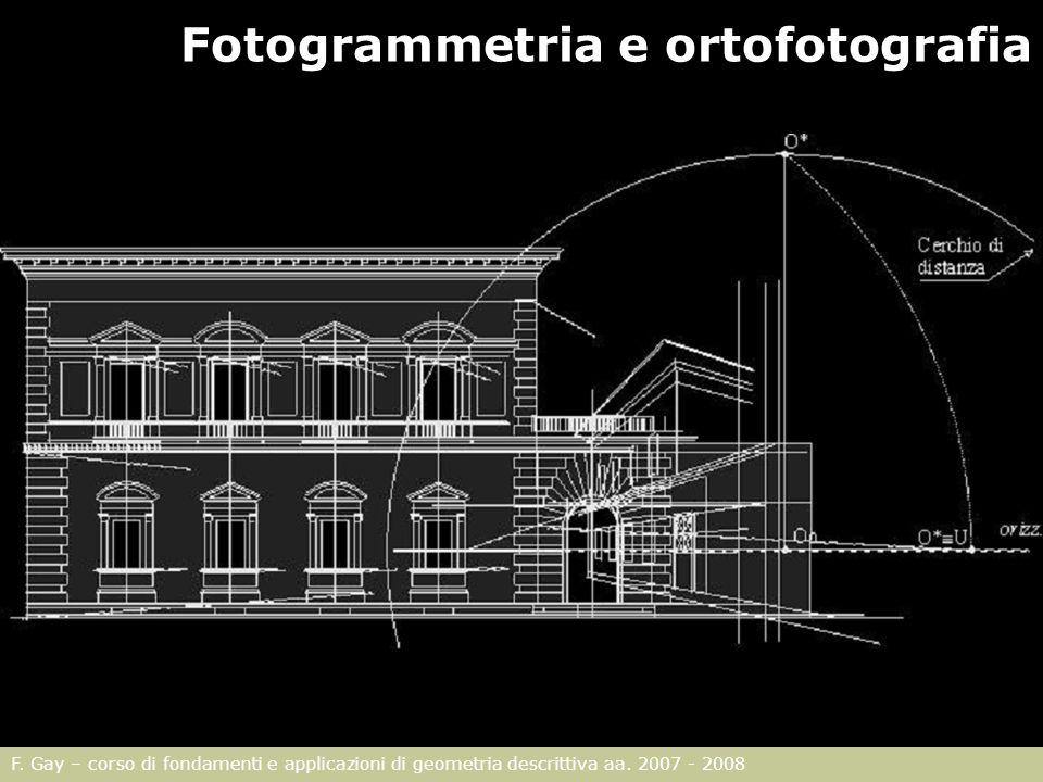 Fotogrammetria e ortofotografia