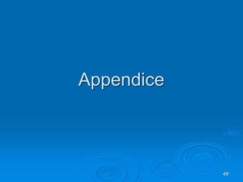 49 Appendice