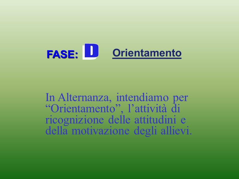 FASE: Orientamento Esperti