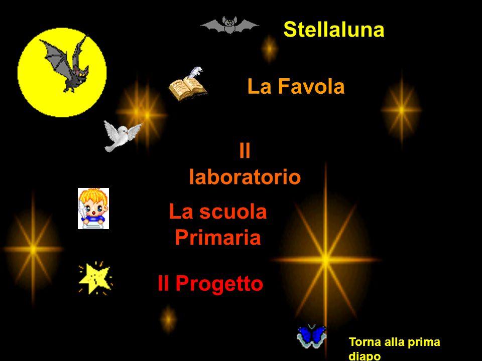La Favola Il laboratorio La scuola Primaria Il Progetto Torna alla prima diapo Stellaluna