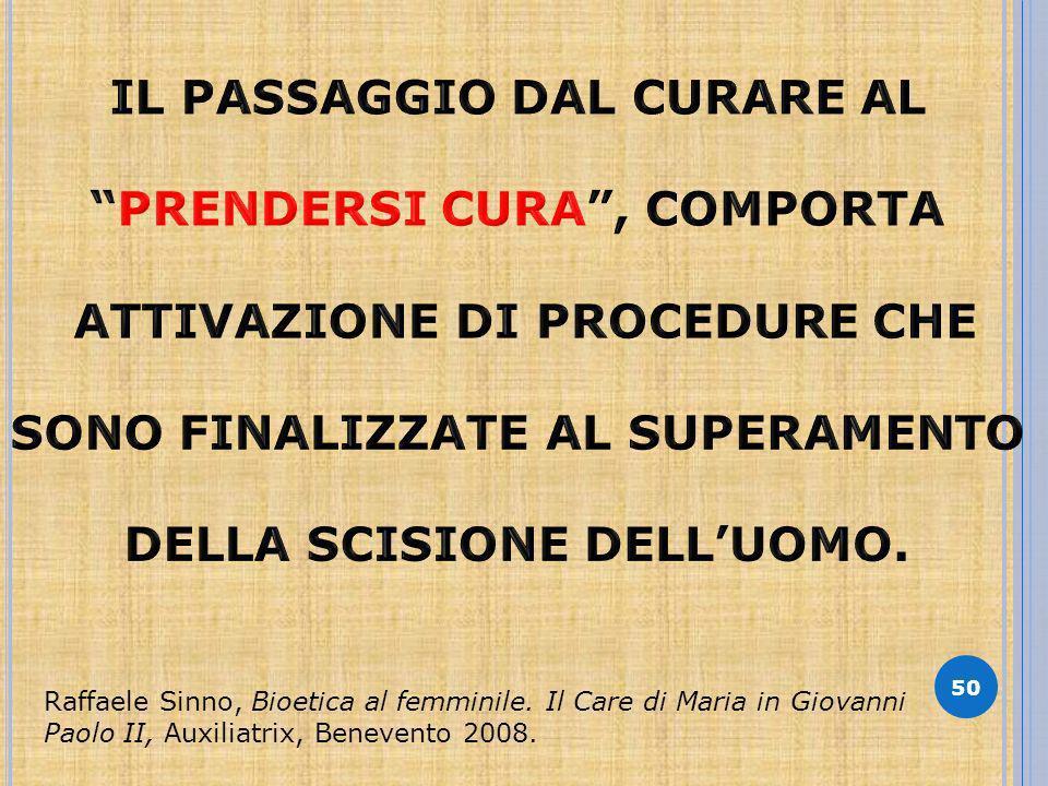 50 Raffaele Sinno, Bioetica al femminile.