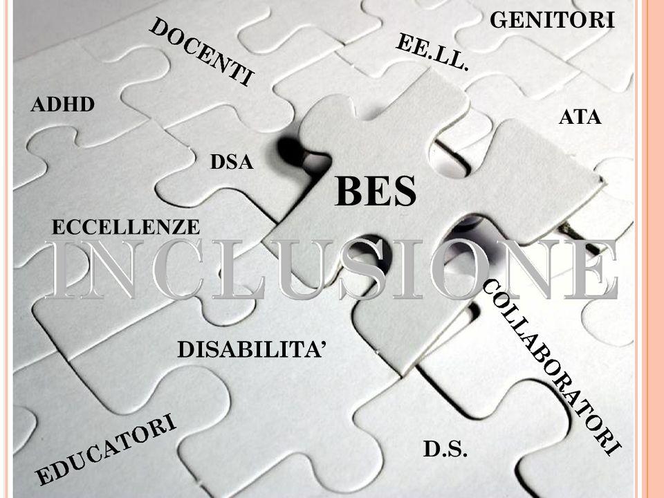 GENITORI ADHD DSA ECCELLENZE ATA BES DISABILITA D.S.