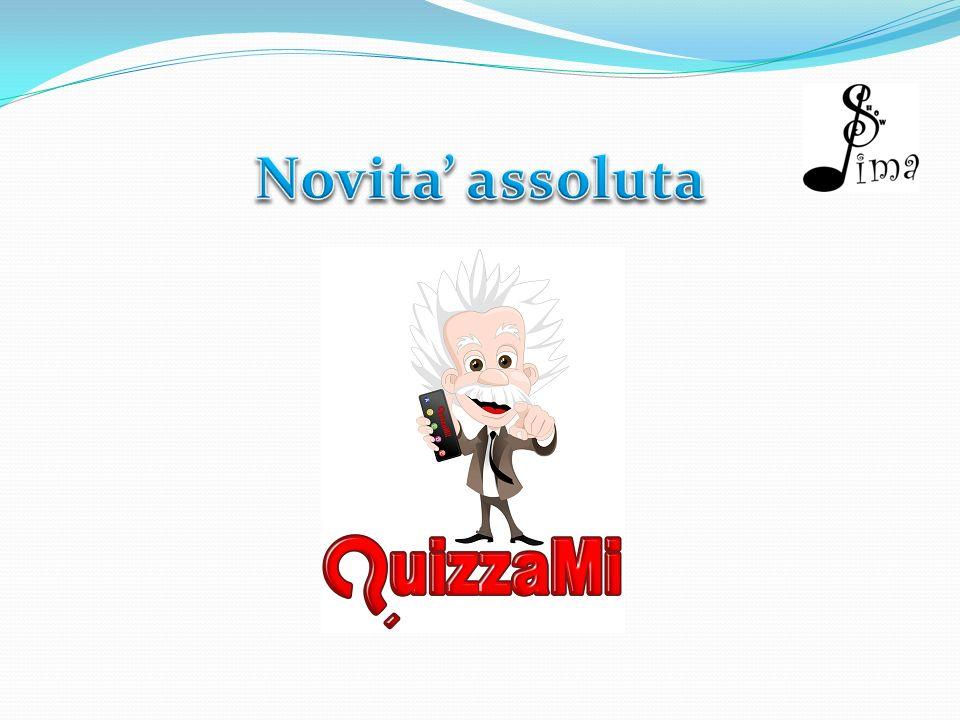 Cosè il Quizzami E un Quiz Show interattivo dal vivo.