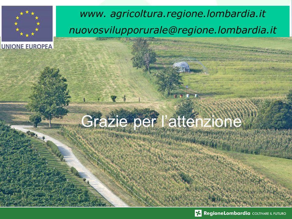 64 Grazie per lattenzione www. agricoltura.regione.lombardia.it nuovosvilupporurale@regione.lombardia.it