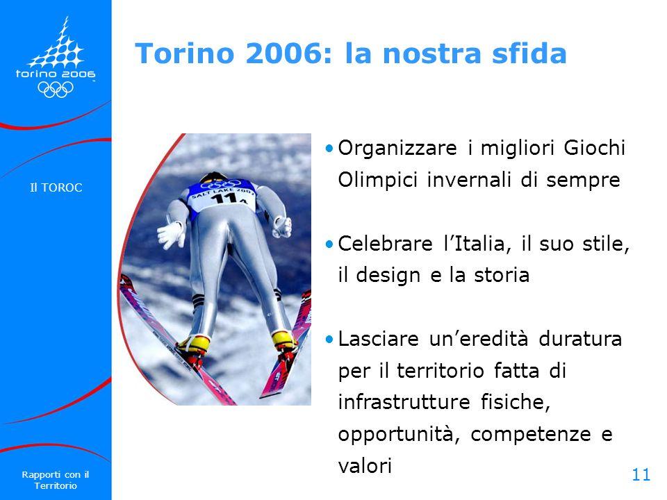 11 Organizzare i migliori Giochi Olimpici invernali di sempre Celebrare lItalia, il suo stile, il design e la storia Lasciare uneredità duratura per i