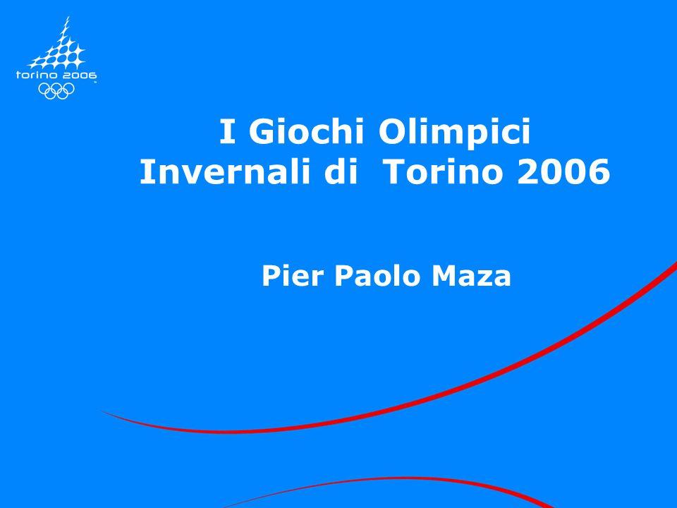 I Giochi Olimpici Invernali di Torino 2006 Pier Paolo Maza