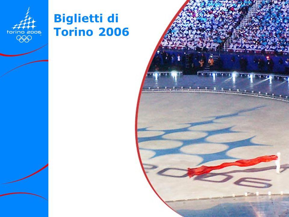 25 Biglietti di Torino 2006