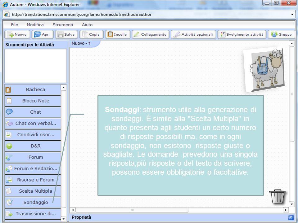 Sondaggi: strumento utile alla generazione di sondaggi.