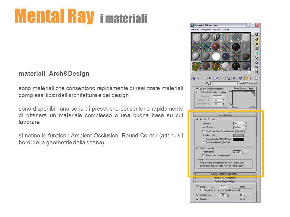 materiali Arch&Design sono materiali che consentono rapidamente di realizzare materiali complessi tipici dellarchitettura e del design sono disponibil