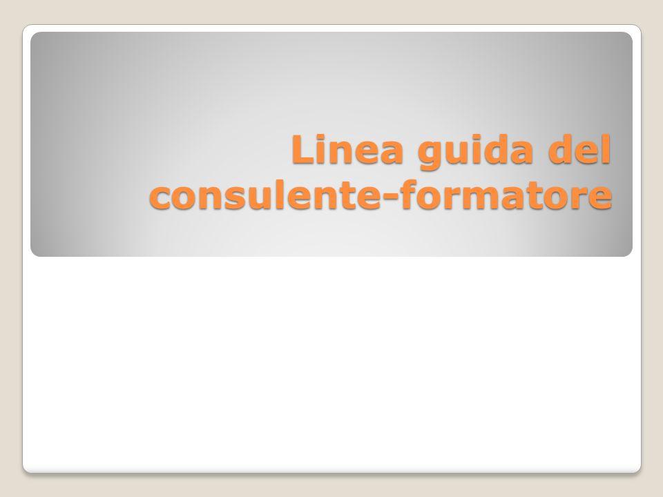Linea guida del consulente-formatore