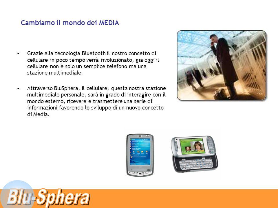 Grazie alla tecnologia Bluetooth il nostro concetto di cellulare in poco tempo verrà rivoluzionato, gia oggi il cellulare non è solo un semplice telefono ma una stazione multimediale.