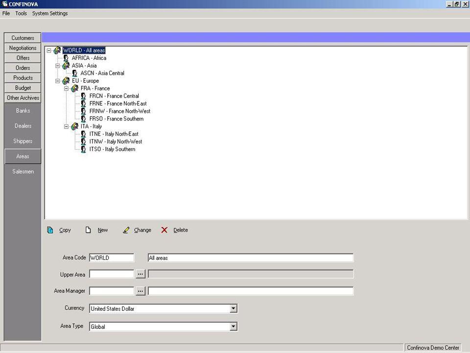 Altre caratteristiche Filtri facili da usare per ogni lista di dominio.