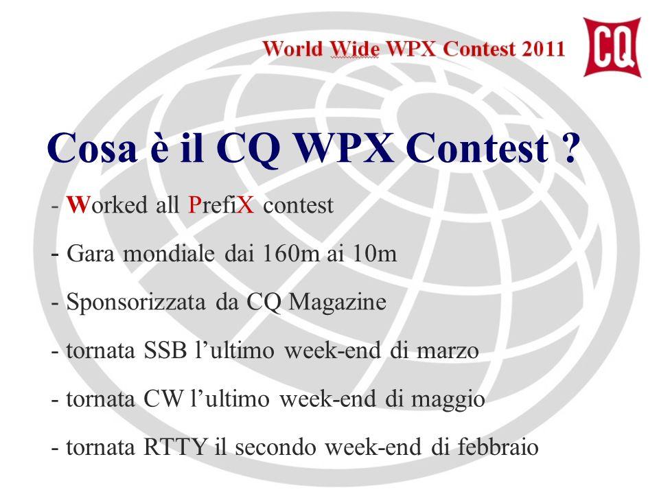 Cosa è il CQ WPX Contest .