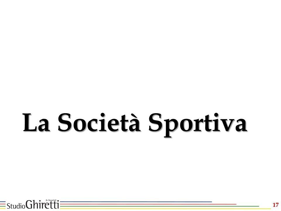 17 La Società Sportiva