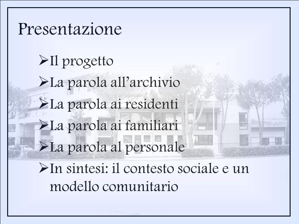 3.Parlano i residenti 5.