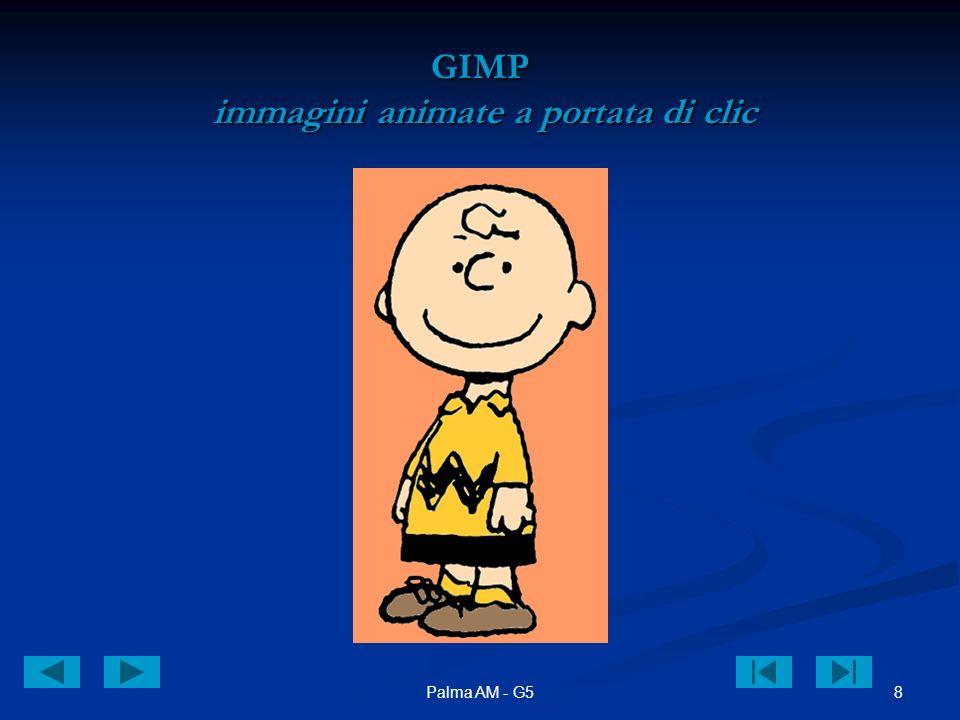 8Palma AM - G5 GIMP immagini animate a portata di clic