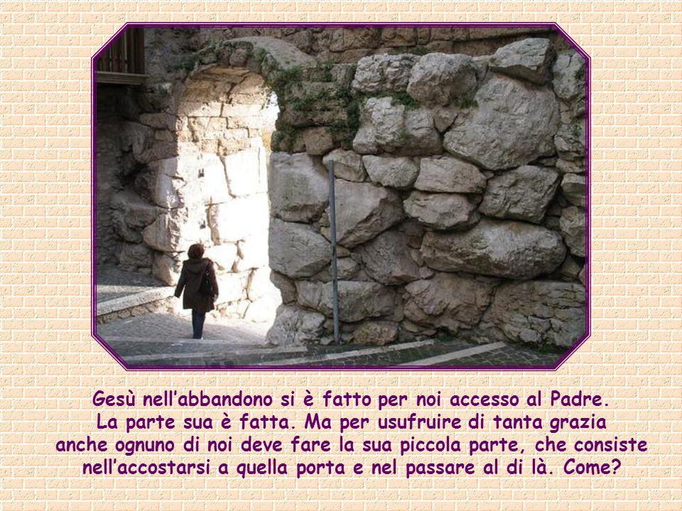 Io sono la porta: se uno entra attraverso di me, sarà salvo; entrerà e uscirà e troverà pascolo (Gv 10,9).