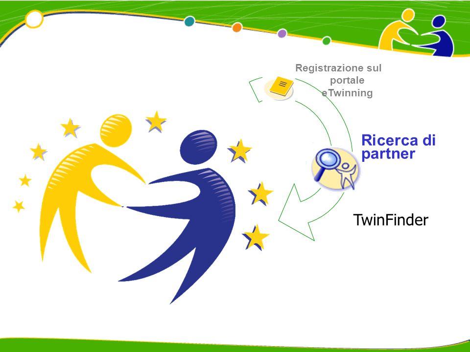 Registrazione sul portale eTwinning Ricerca di partner TwinFinder