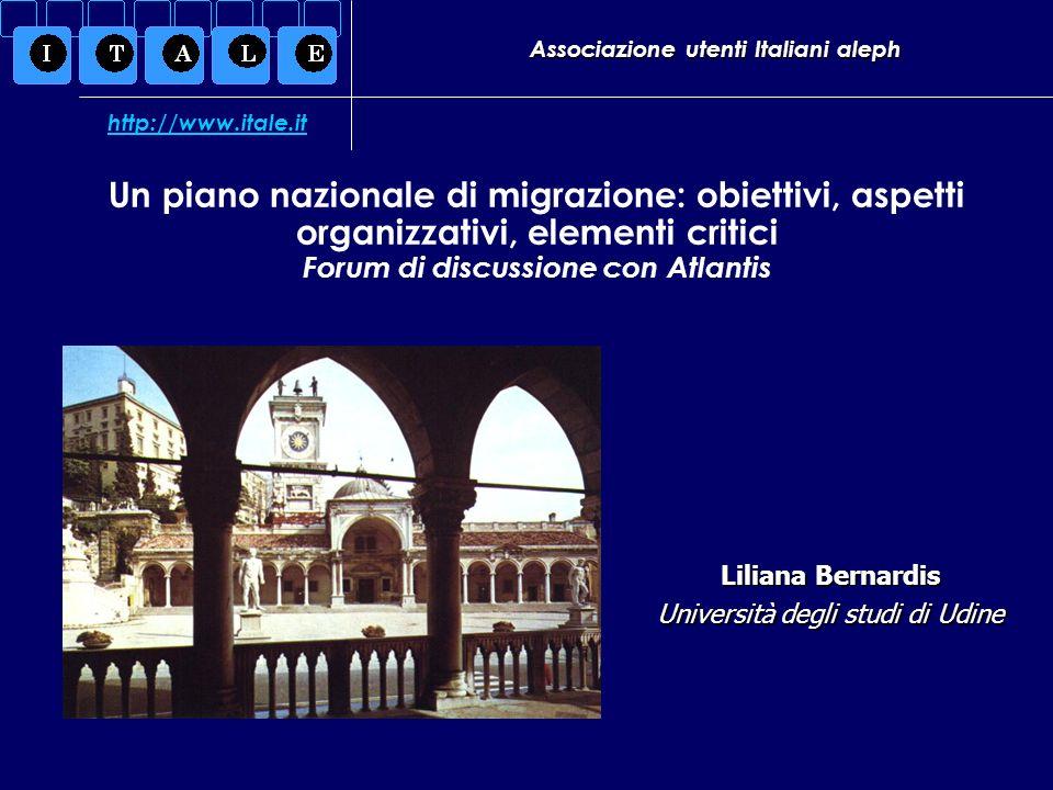 1 aprile 2005 Forum di discussione con Atlantis-Liliana Bernardis Problemi Tecnici Quesito 3 3a Il modulo dei periodici attualmente è quello che presenta le maggiori criticità nella versione 16.2.