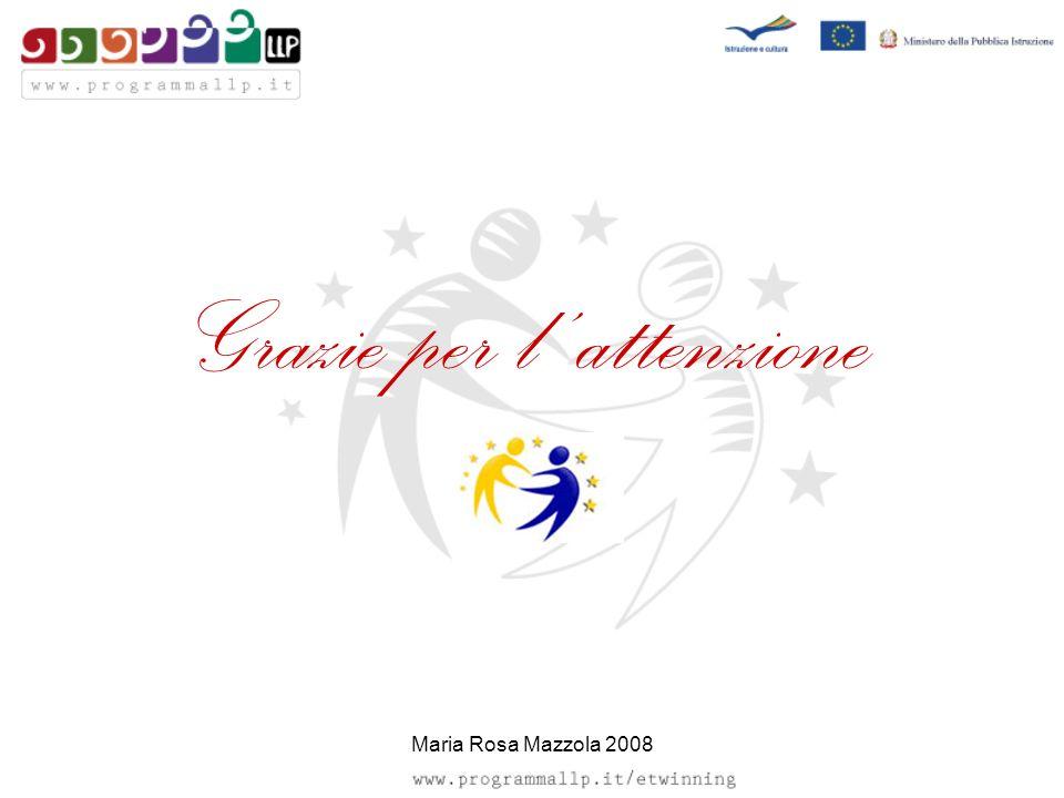 Grazie per l attenzione Maria Rosa Mazzola 2008