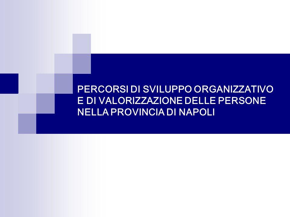 PERCORSI DI SVILUPPO ORGANIZZATIVO E DI VALORIZZAZIONE DELLE PERSONE NELLA PROVINCIA DI NAPOLI