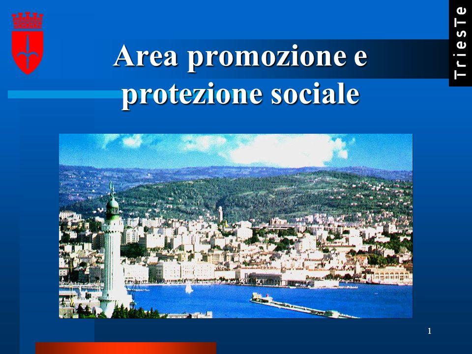 1 Area promozione e protezione sociale