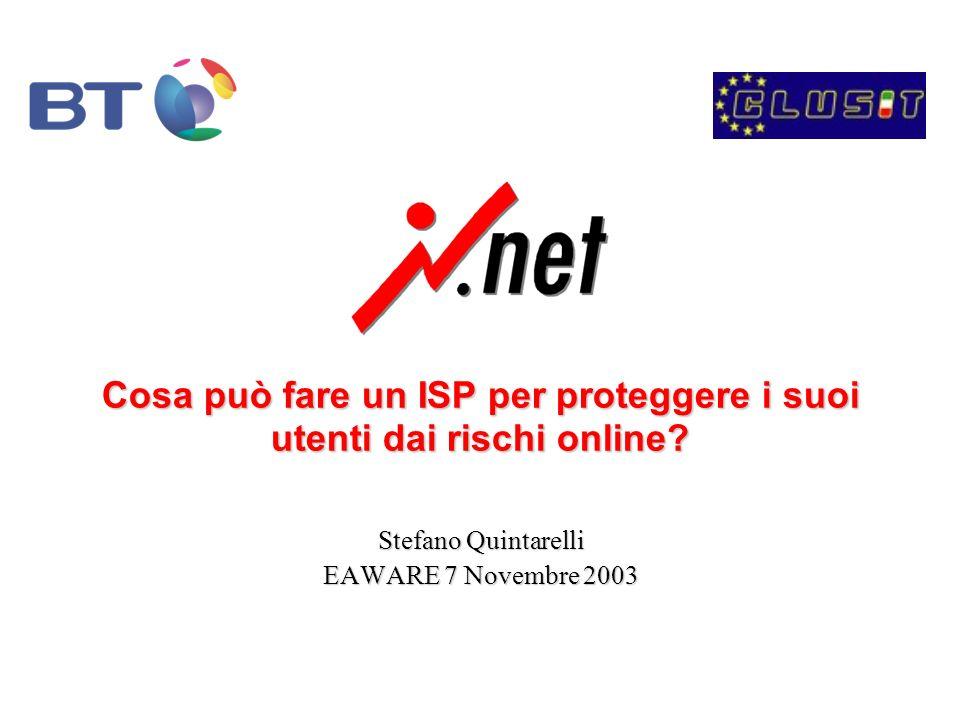 Cosa può fare un ISP per proteggere i suoi utenti dai rischi online.