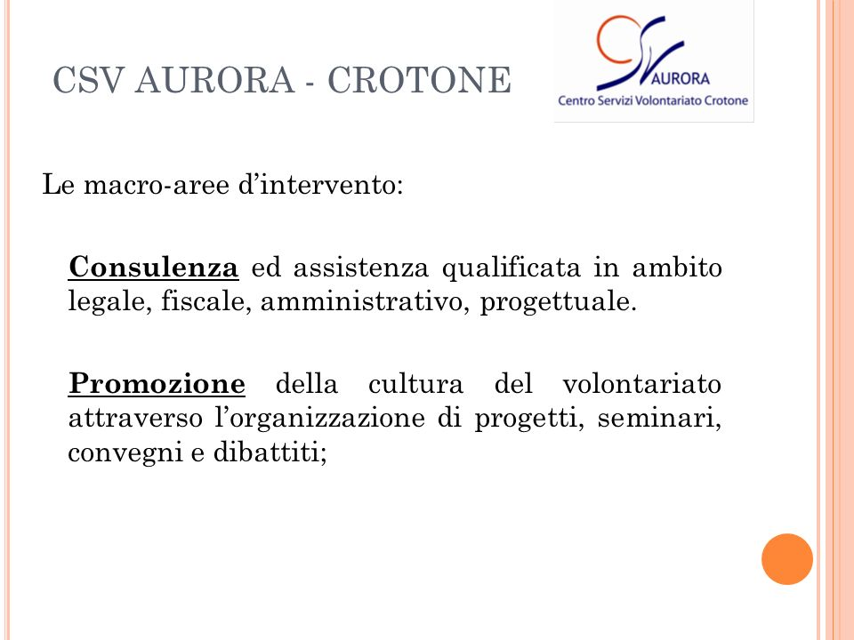 Le macro-aree dintervento: Consulenza ed assistenza qualificata in ambito legale, fiscale, amministrativo, progettuale.