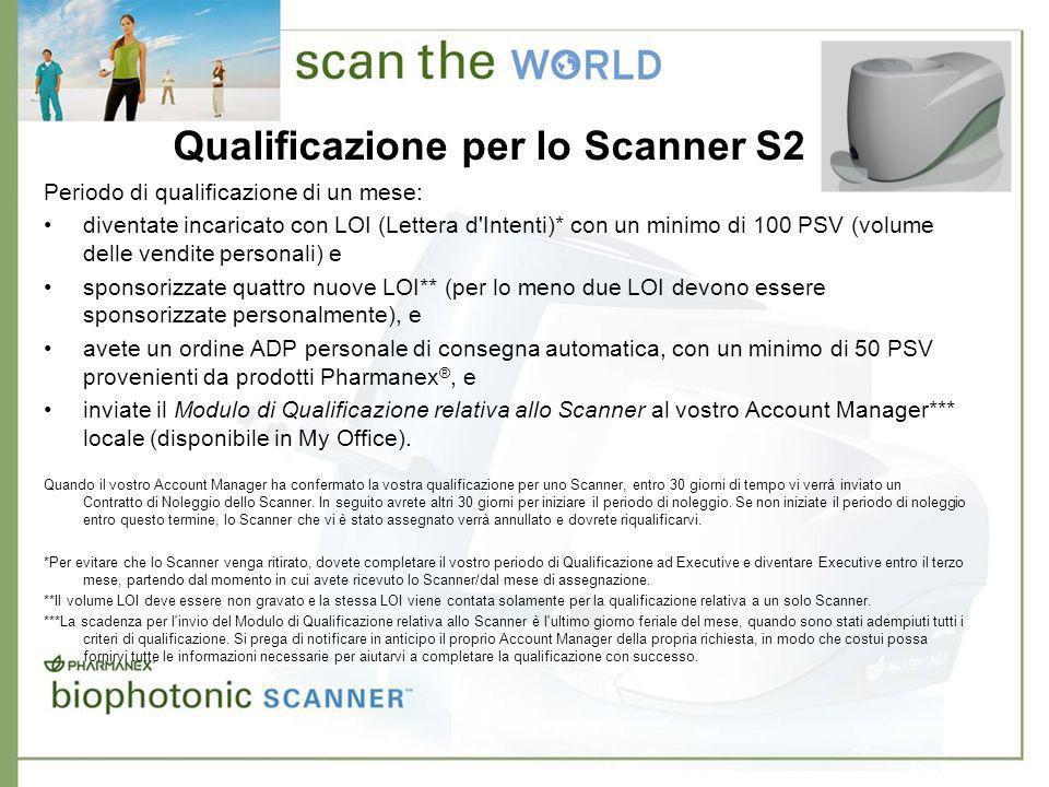 Condizioni per il noleggio dello Scanner Condizioni di noleggioScanner S2 Everest Acconto 500 euro Pagamento mensile 209 euro Condizioni di noleggio 36 mesi ** *Transazione di noleggio esistenti: il pagamento di 500 Euro viene trasferito.