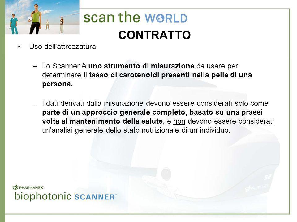 FORMAZIONE SUCCESSIVA Addestramento per la Certificazione dell Operatore dello Scanner –Seguendo l addestramento per la Certificazione potrete ottenere una Licenza di Operatore dello Scanner.