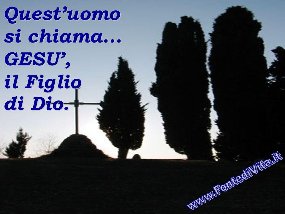 Vincendo la morte... Egli ha ridato a noi il diritto di avere la VITA ETERNA attraverso il suo SANGUE che... « LIBERA dal peccato », « GUARISCE le mal