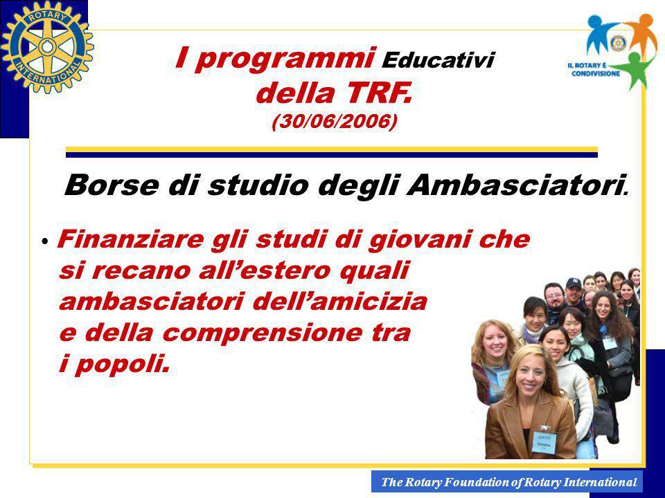 I programmi Educativi della TRF.