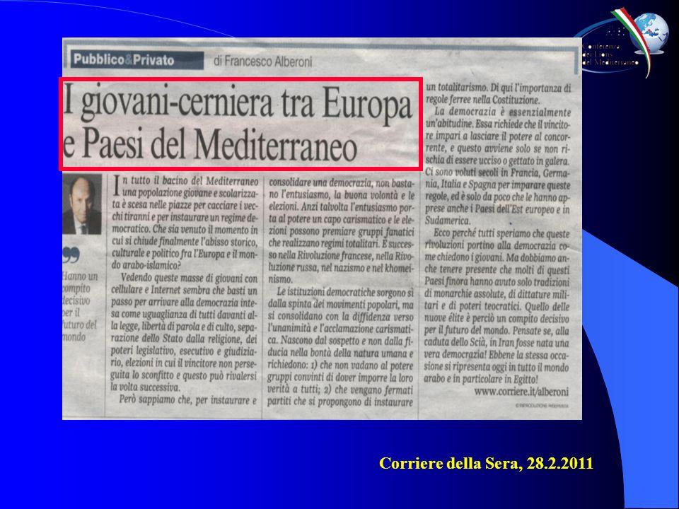 Titolo / Titre / Title Testo / Texte / Text Corriere della Sera, 28.2.2011