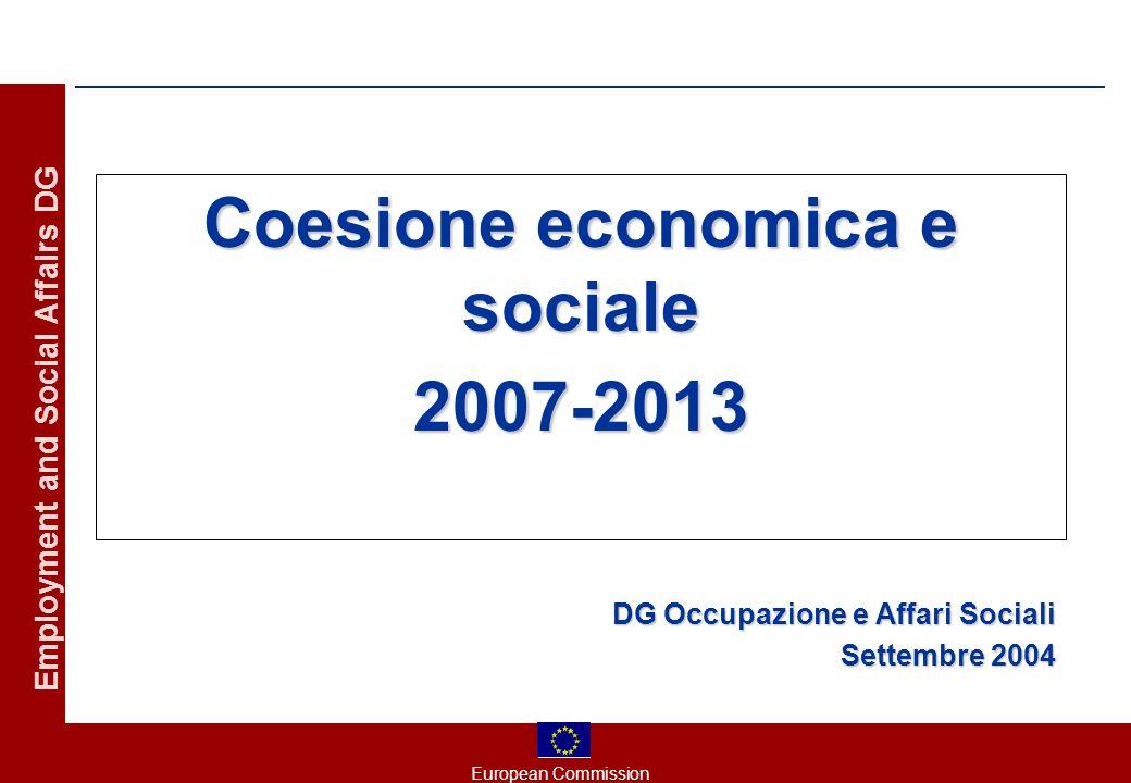 European Commission Employment and Social Affairs DG I principi generali della riforma (V) 5.
