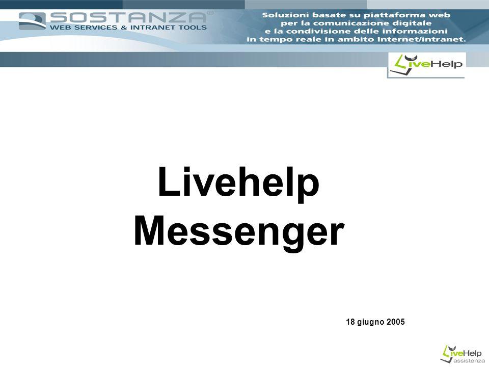 Livehelp Messenger 18 giugno 2005